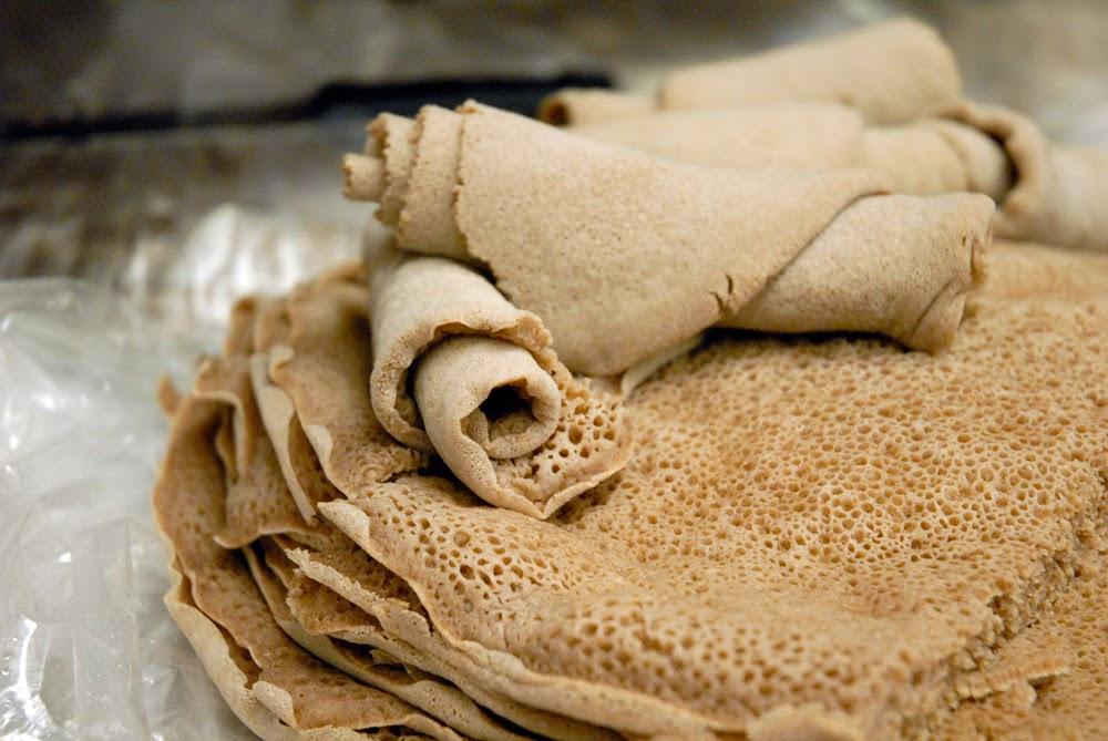 Injera Recipe (Ethiopian Flatbread)