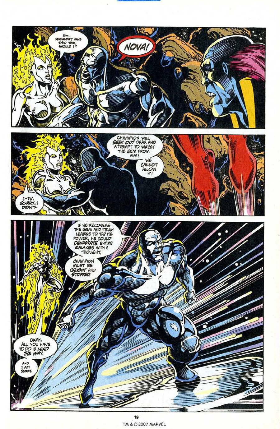 Read online Silver Surfer (1987) comic -  Issue #98 - 21