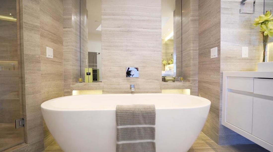 Tour L'Hermitage Luxury Condo vs. 18 Interior Design Photos