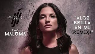 Algo Brilla, remix, Maluma, Natalia Jimenez, latin music