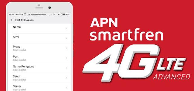 2 APN Smartfren Anti FUP Terbaru 2019 Untuk MNC 28 dan MNC 09
