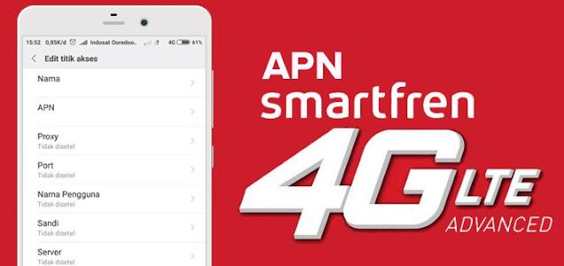 2 APN Smartfren Anti FUP Terbaru 2021 Untuk MNC 28 dan MNC 09