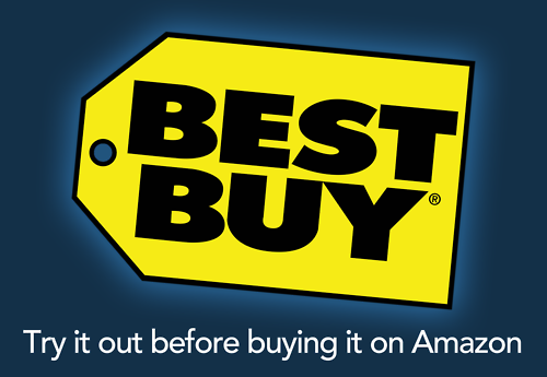 Best Buy - try it out before buying it on Amazon