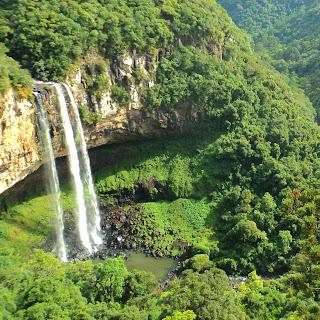 Cascata do Caracol, em Canela