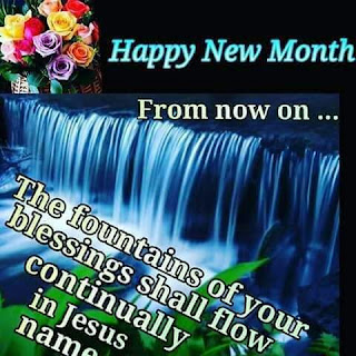 Happy new month from 9jagospelblog