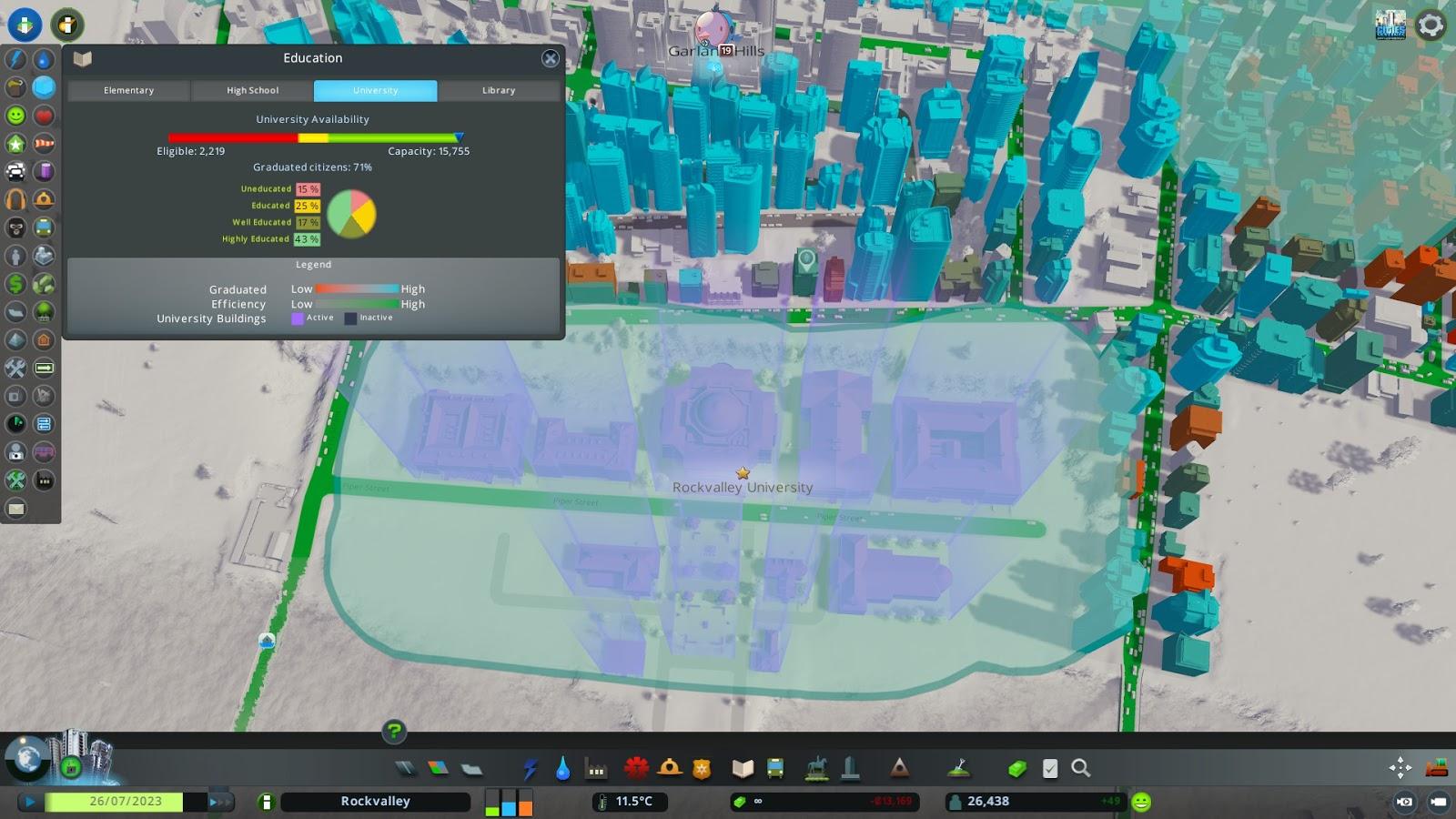 Cities Skylines Campus PC ESPAÑOL (CODEX) 5