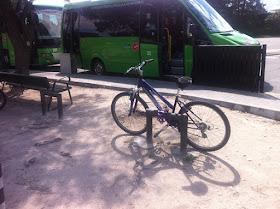 Aparcamientos para bicicletas en Municipios. El caso de la urbanización Ciudalcampo