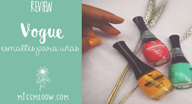 Esmaltes para uñas: Vogue
