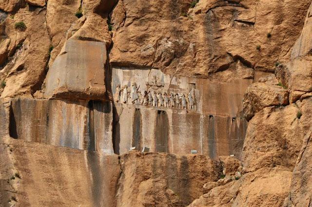 Los relieves de Bisotun en Kermanshah