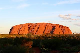 Uluru - Ayers Rock at sunrise