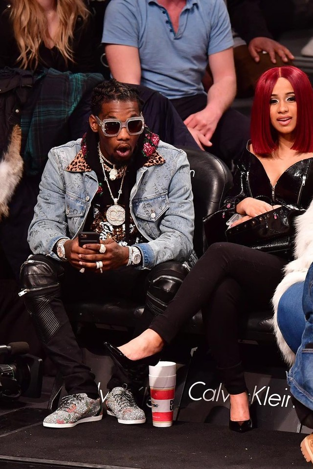 Cardi B and Offset got engaged at the Wells Fargo Arena in Philadelphia on Friday, October 27