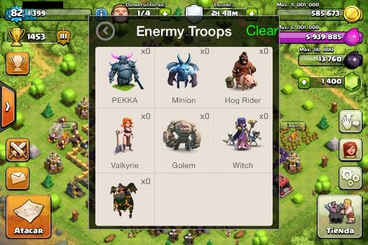 unlimited troops clash of clans mod