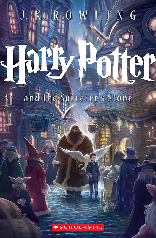 Harry Potter 15th Anniversary Trade Paperback, cover by Kazu Kibushi