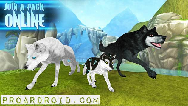 تحميل لعبة Wolf: The Evolution v1.9 مهكرة كاملة للاندرويد (اخر اصدار) logo