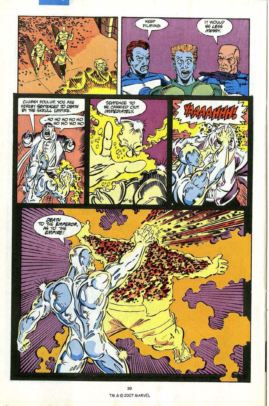 Read online Silver Surfer (1987) comic -  Issue #53 - 22