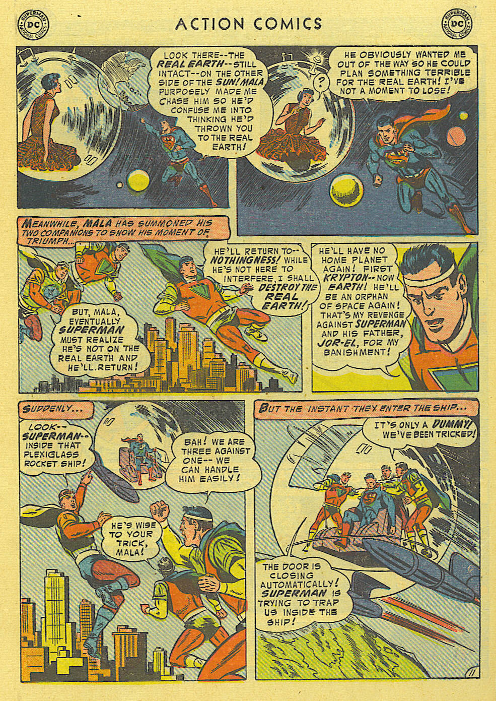 Read online Action Comics (1938) comic -  Issue #194 - 12