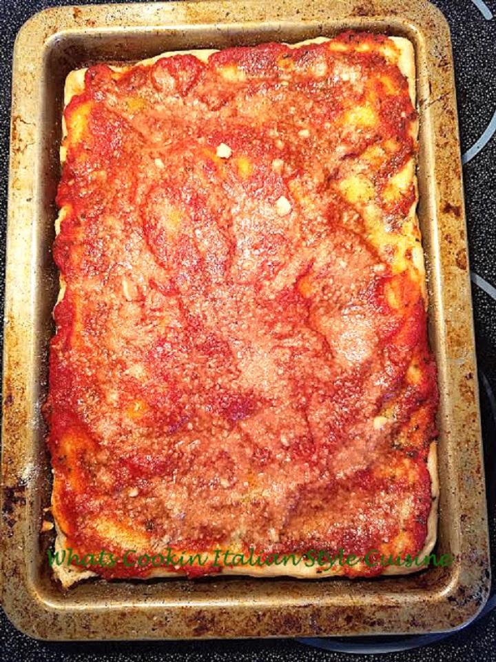 Tomato Pie Recipe Upstate New York What S Cookin Italian Style Cuisine