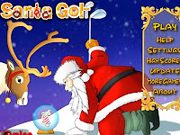 Come help #Santa play a little #PuttPuttGolf before he does his rounds! #ChristmasGames
