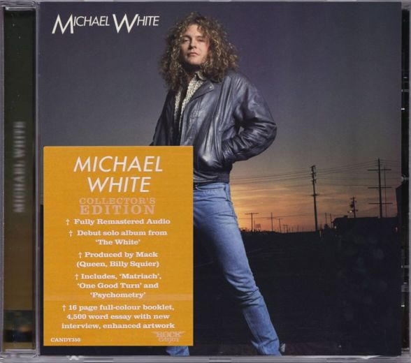 MICHAEL WHITE - Michael White [Rock Candy remastered] (2017) full