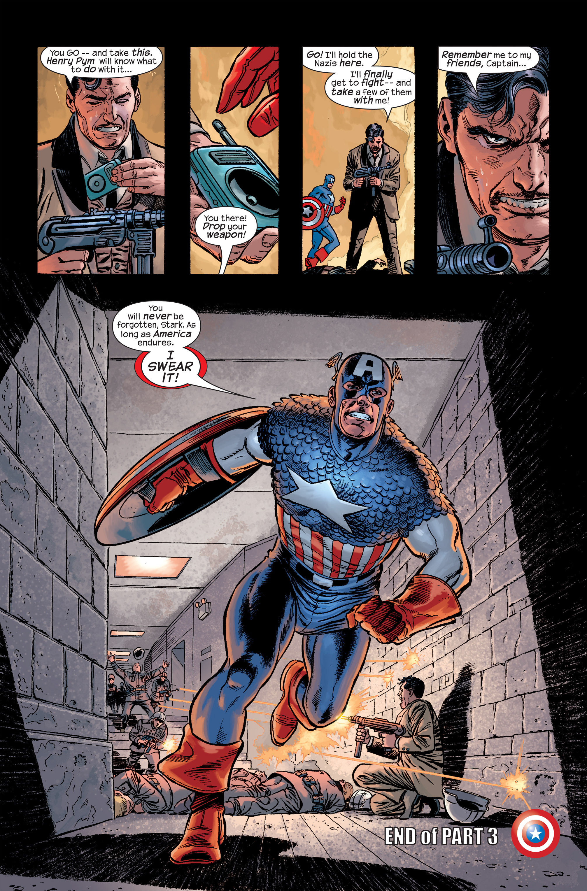 Captain America (2002) Issue #19 #20 - English 24