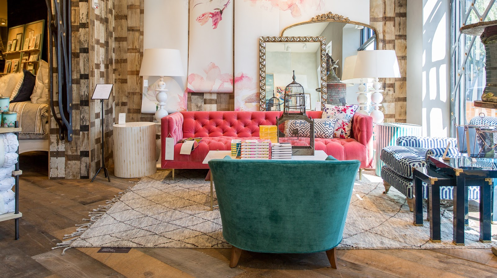 Anthropologie living room - Photo