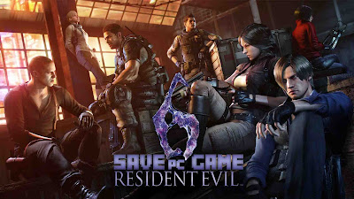 RE6 100% Save Game PC