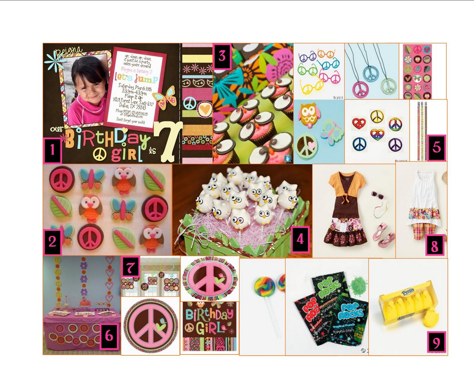 Events By Tiffany And Cristen Hippie Chick Party
