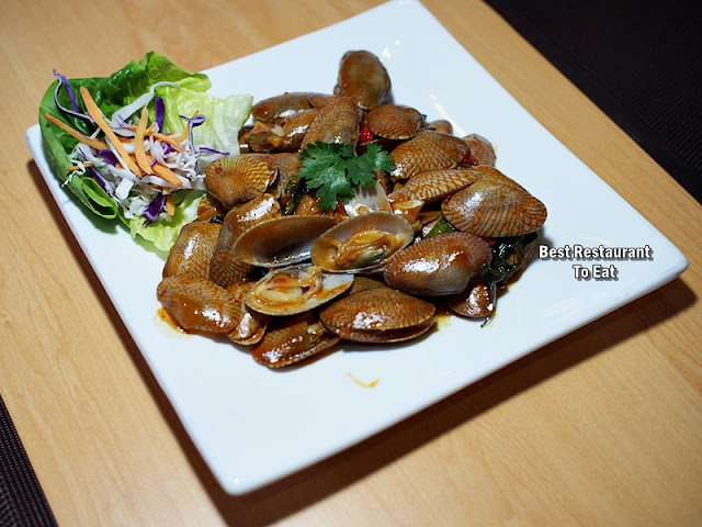 Fried Cili Clams