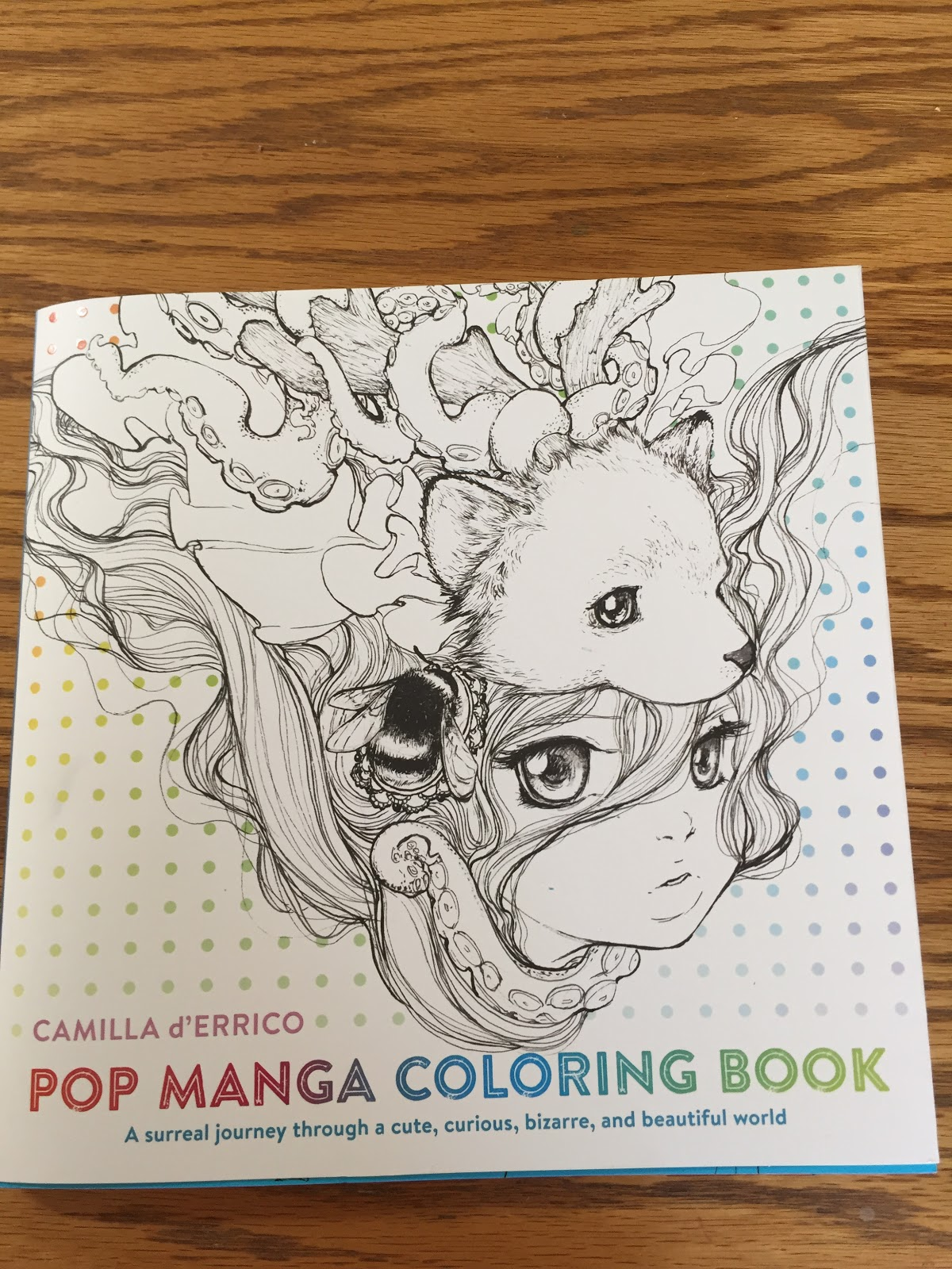 Pop Manga Coloring Book By Camilla DErrico Genre Books For Adults And So Much More 80 Pages Count Them Freaking 10 X