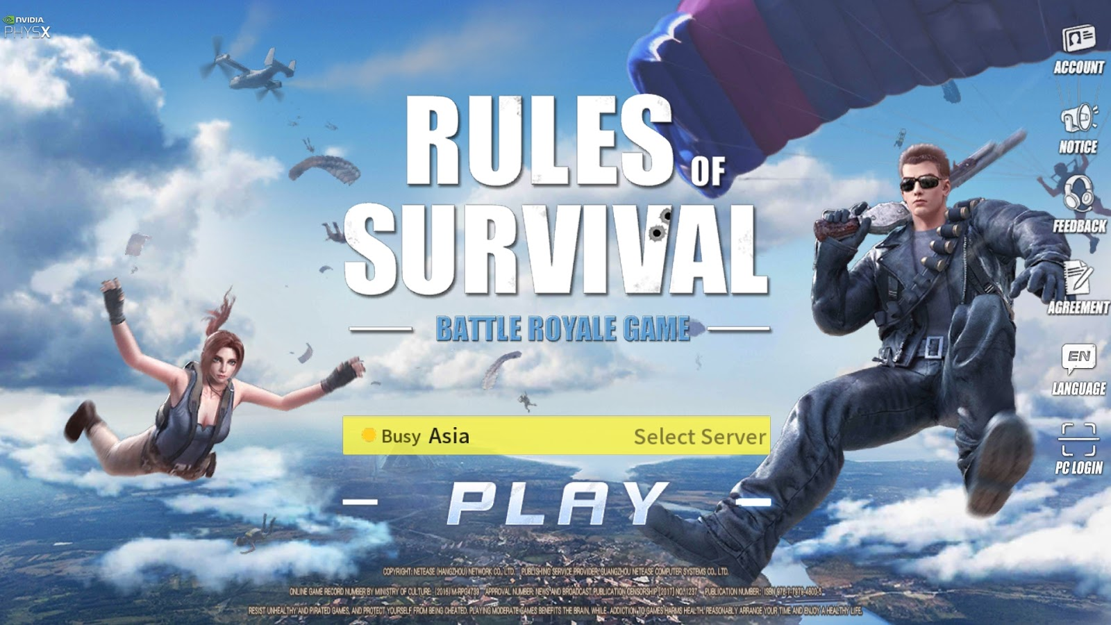 Tutorial Bermain Rules Of Survival PC Full Screen