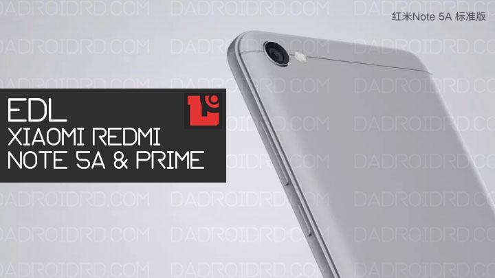 Tutorial mudah masuk ke mode EDL pada Xiaomi Redmi Note 5A