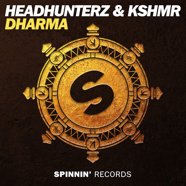 Headhunterz & KSHMR - Dharma (Extended Mix) - Single Cover