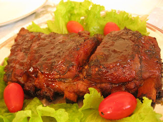 baked barbecue rib tips recipe