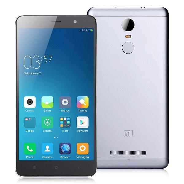 thiết kế Redmi Note 3