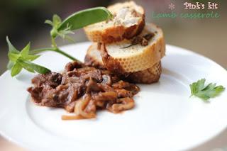 Thịt cừu hầm với rượu nho 1