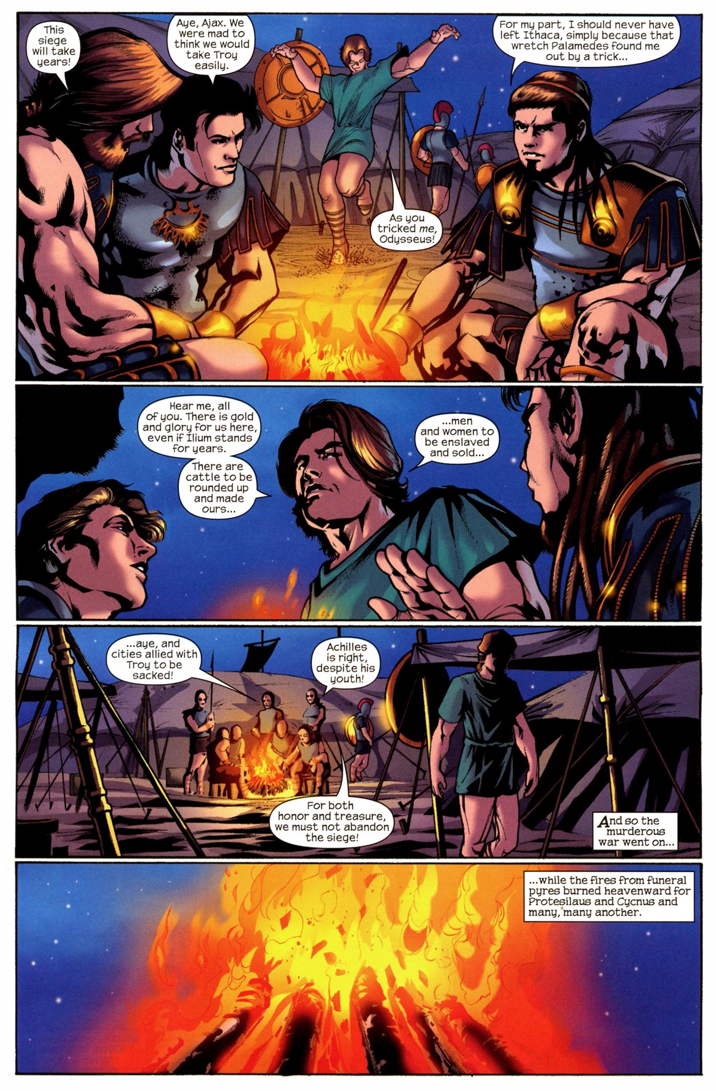 Read online Trojan War comic -  Issue #2 - 18