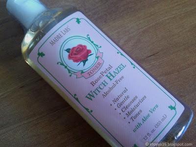Madre Labs, Witch Hazel Toner, Rose Petal