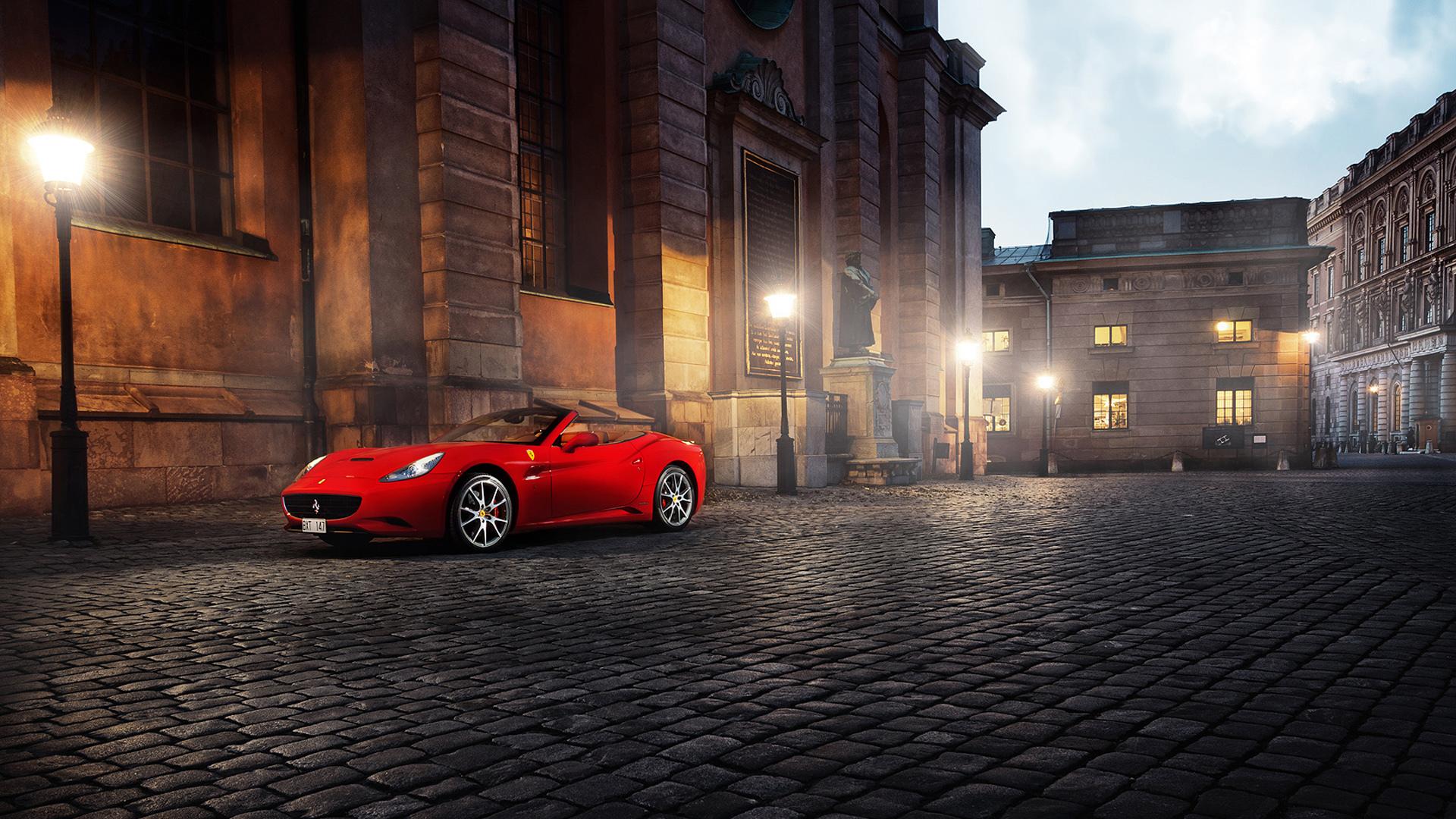 Imagenes De Autos En Hd Para Fondo De Escritorio: Ferrari California Rojo