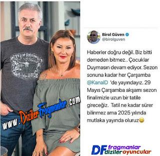 Çocuklar Duymasın, Final Mi Yapıyor, Bitiyor Mu, Diziler, Birol Güven, Tamer Karadağlı, Pınar Altuğ, Kanal D,