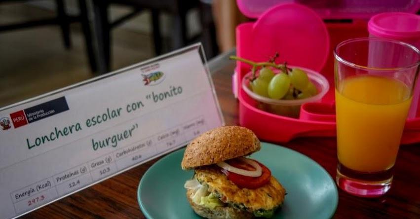 Loncheras no saludables podrían causar sobrepeso y obesidad en niños, advierte nutricionista del Programa Nacional «A Comer Pescado» del Ministerio de la Producción