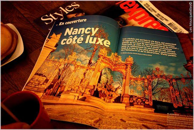 L'Express, nouvelle formule - Ville de Nancy - Blog Les Mousquetettes©