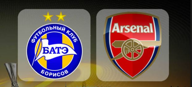 BATE Borisov 2 vs 4 Arsenal (Highlights and Goals)