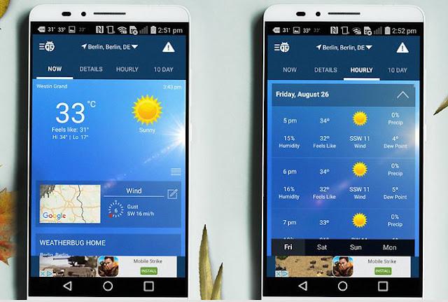 9 Aplikasi Cuaca dan Widget Terbaik  untuk Android. 5
