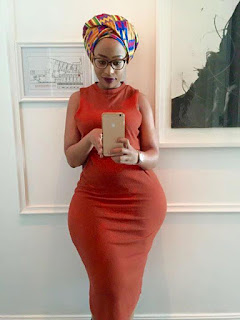 Mpho Khati posed for a photo in her house in South Africa. PHOTO| Courtesy