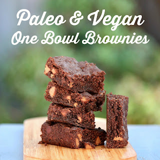 Paleo and Vegan One Bowl Brownie Recipe