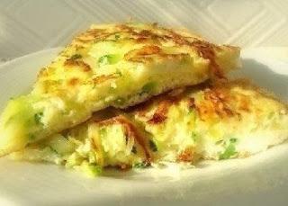 рецепт кабачкового омлета на завтрак