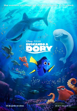 Poster Finding Dory 2016