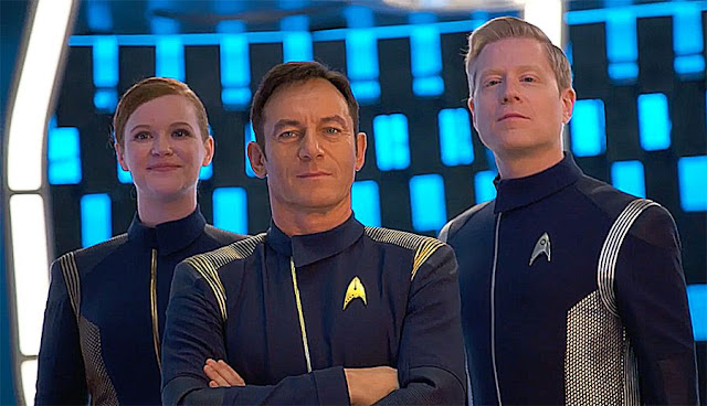 Nous prépare-t-on un Star trek avec le capitaine Gabriel Lorca (Jason Isaac) aux commandes ?