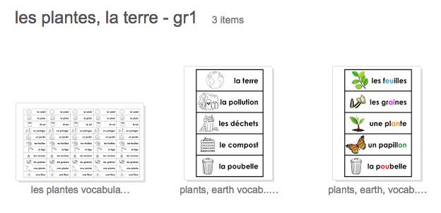 Madame Belle Feuille: Les plantes et le jour de la terre