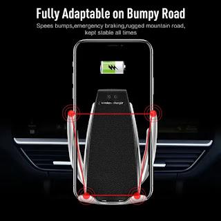 caricatore per auto wirelessmorsetto automatico s5 supporto